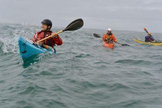 Kayaking Gull Rock by