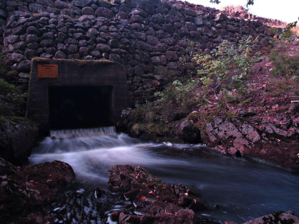 """Avon River/Card Lake power dam"", by mark allen. Taken at Upper Vaughan NS."