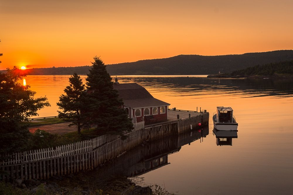 """""""Bacon Cove"""", by David Brophy. Taken at Bacon Cove, NL."""