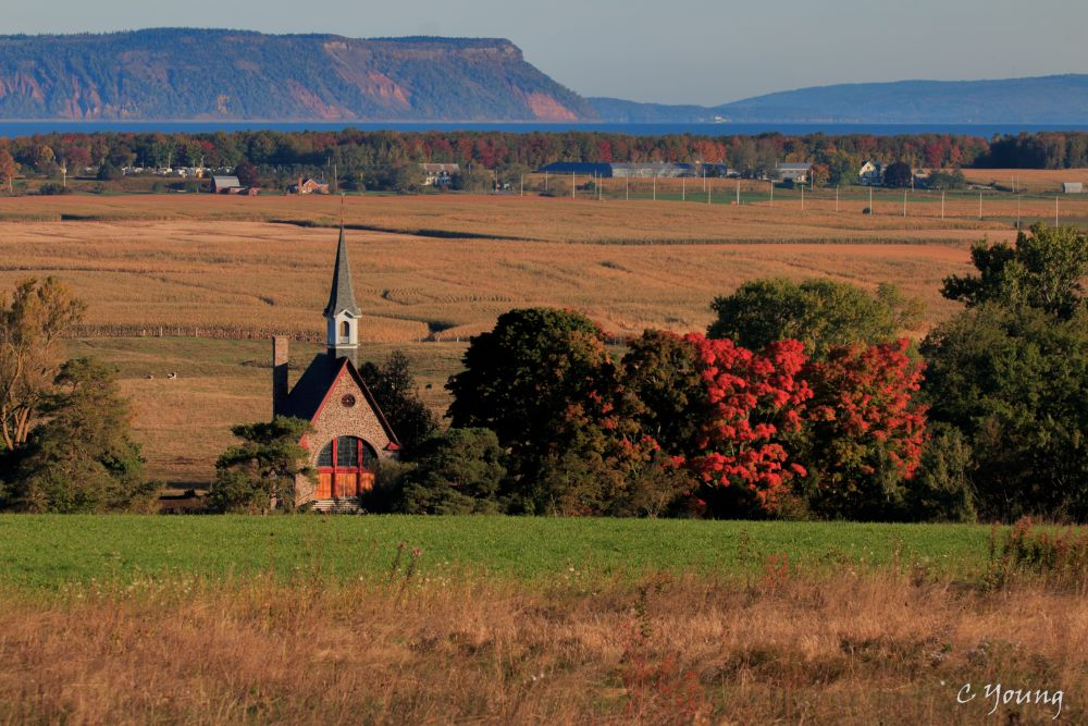 """""""Home Sweet Home"""", by Cathryn Young. Taken at Grand Pre."""