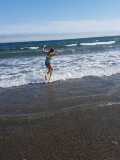 Jumping waves by