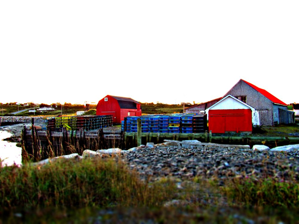 """Sandford wharf Yarmouth NS"", by mark allen. Taken at Yarmouth NS."