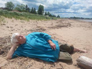 Beach Nap by