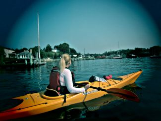 Sea Kayaking Chester NS by