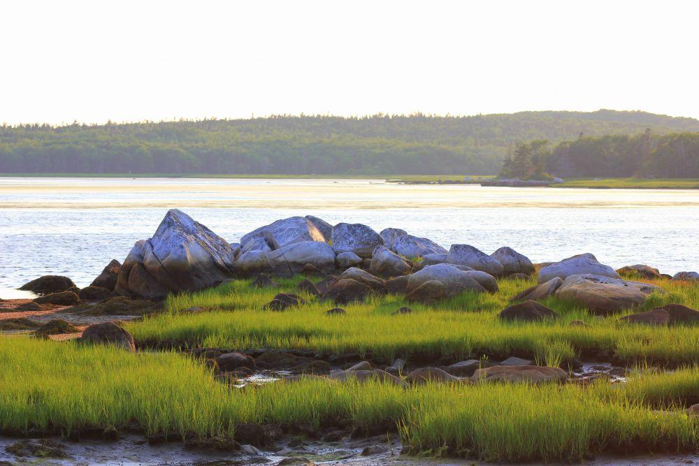 """""""Kejimkujik at Sunset"""", by Susan V. Stylianou. Taken at Kejimkujik National Park, Seaside."""