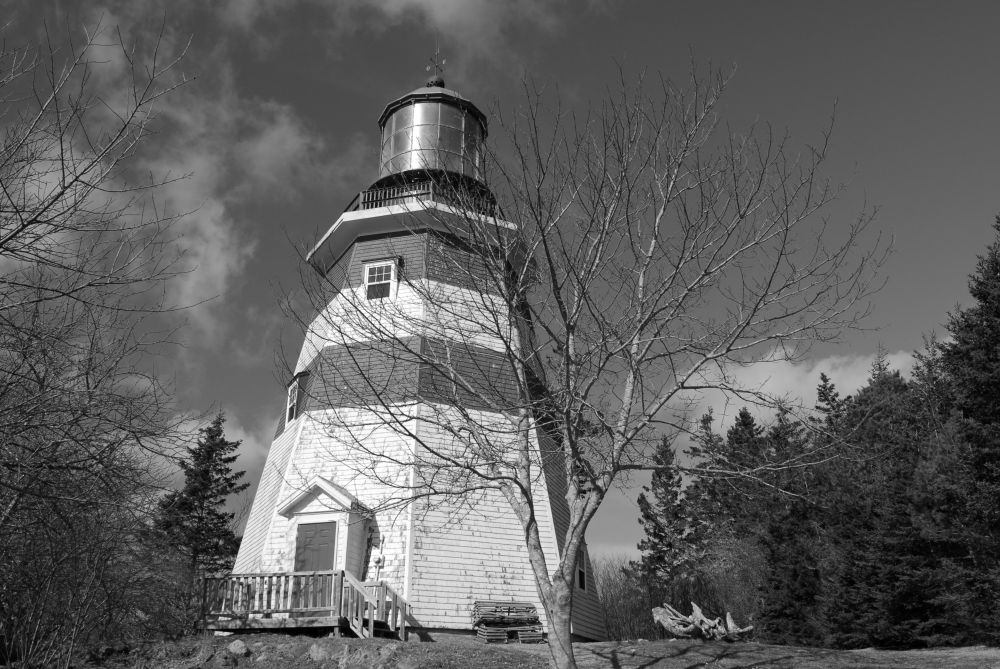 """Seal Island Lighthouse"", by G. NEARING. Taken at Barrington n.s.."