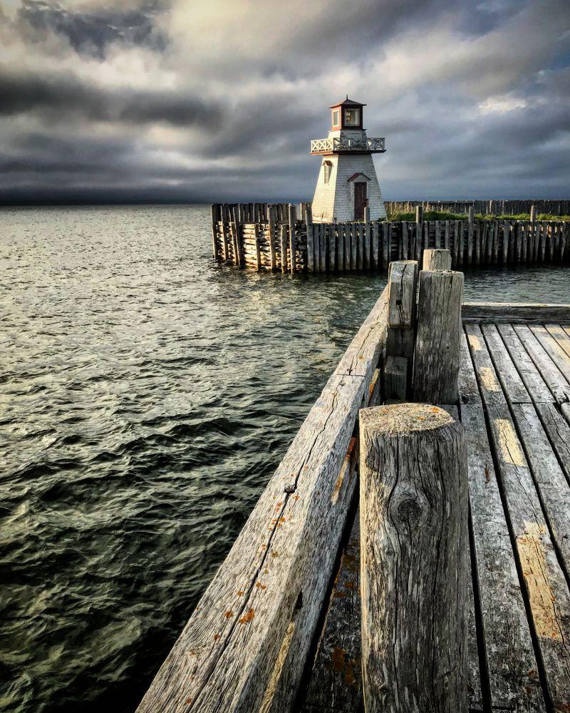"""Belliveau's Cove Lighthouse"", by Catherine LeBlanc. Taken at Belliveau's Cove, NS."