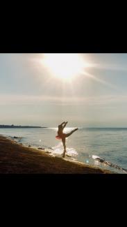 Beach Ballerina by