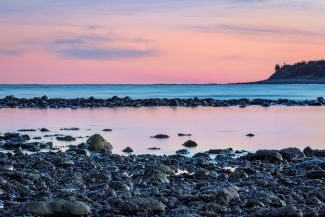 Sunset at Low Tide by