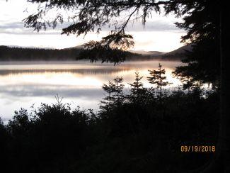 Wilderness sunrise by