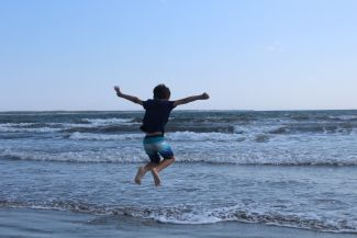 Jumping the Waves by