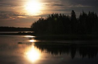 Moonlight in Chezzetcook by
