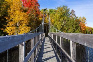 Shogomoc Walking Bridge, Canterbury, NB by