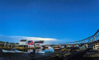 Star Gazing - Blue Rocks by