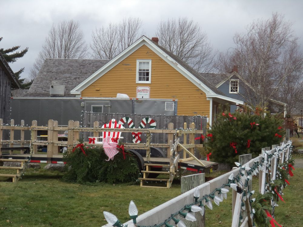 """Christmas at Sherbrooke Village"", by Anita Daye. Taken at herbrooke, NS."