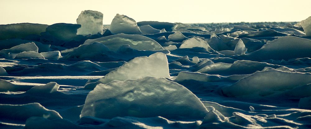 """Pack Ice Blues"", by MB Whitcomb. Taken at Cabot Trail."