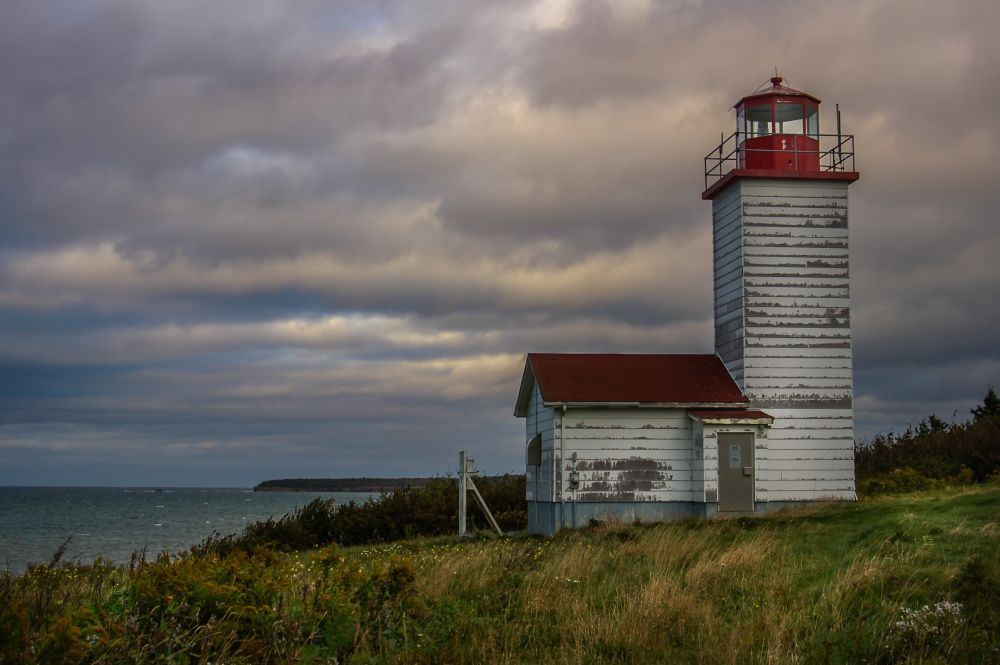 """""""Black Rock Lighthouse"""", by MB Whitcomb. Taken at Black Rock, NS."""