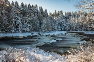 Lepreau River by