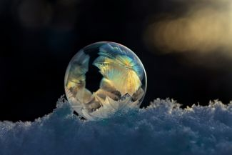 Frozen Bubble Art by