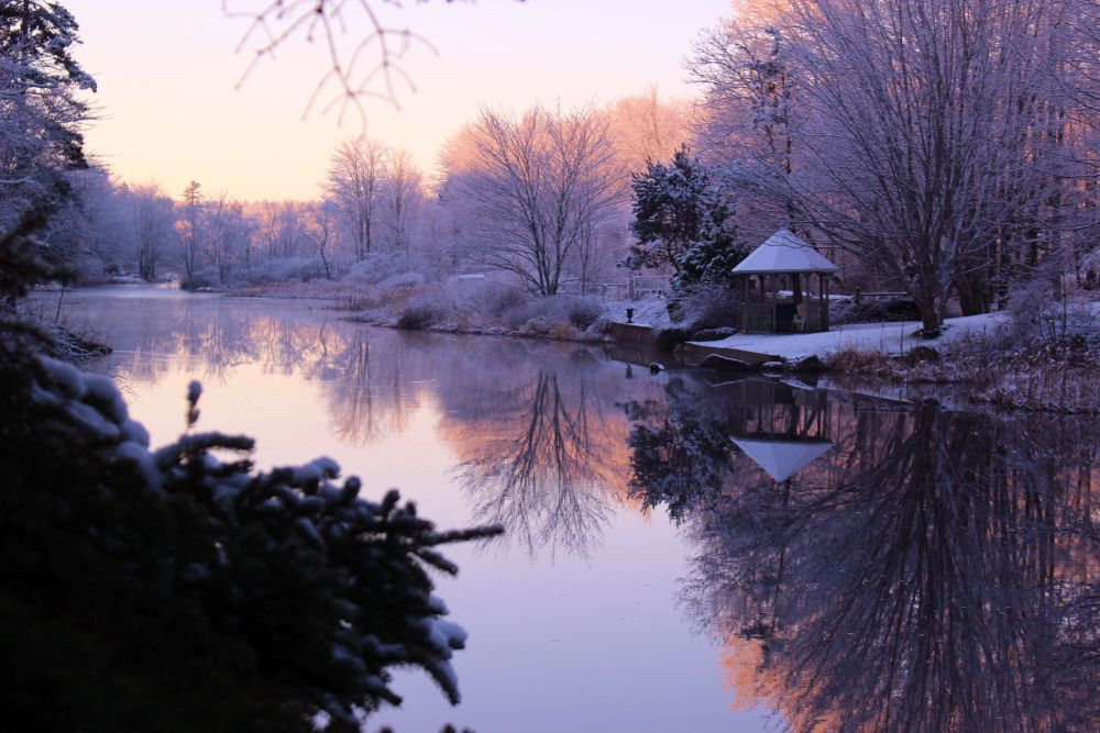 """Sunrise on the canal"", by vicki blaxland. Taken at Fall river ns."