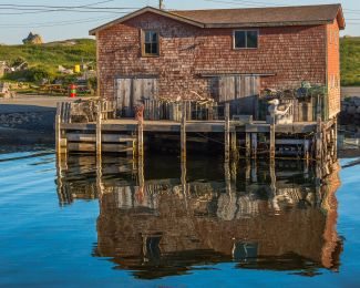 All's Quiet in the Cove by