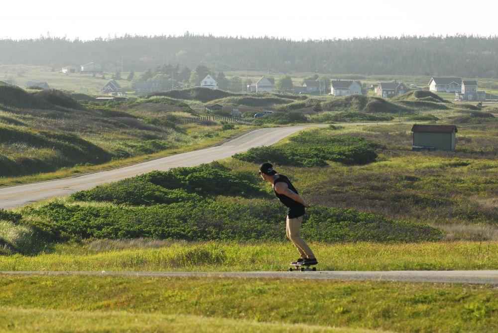 """Skateboarding"", by G. NEARING. Taken at DIGBY .CO."