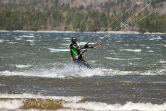 Kitesurfer by