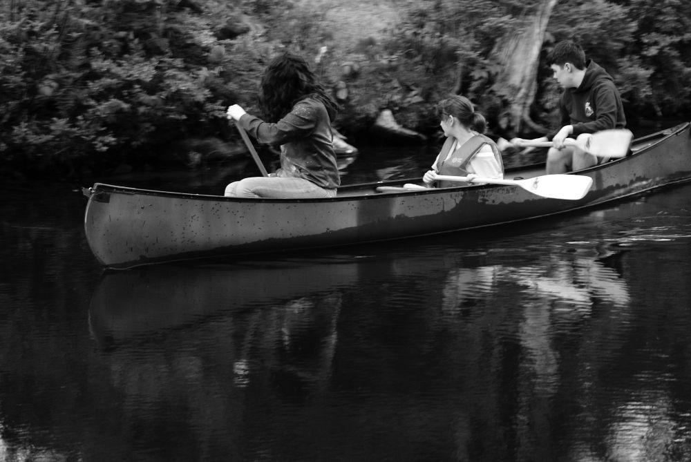 """""""Canal Paddle"""", by Margaret Keizer. Taken at Shubenacadie Canal."""