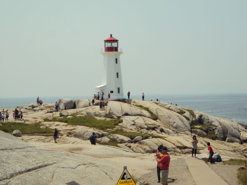 """Lighthouse at Peggy's Cove"", by Cheryl MacDonald. Taken at Pegy's Cove, N.S.."