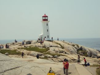 Lighthouse at Peggy's Cove by