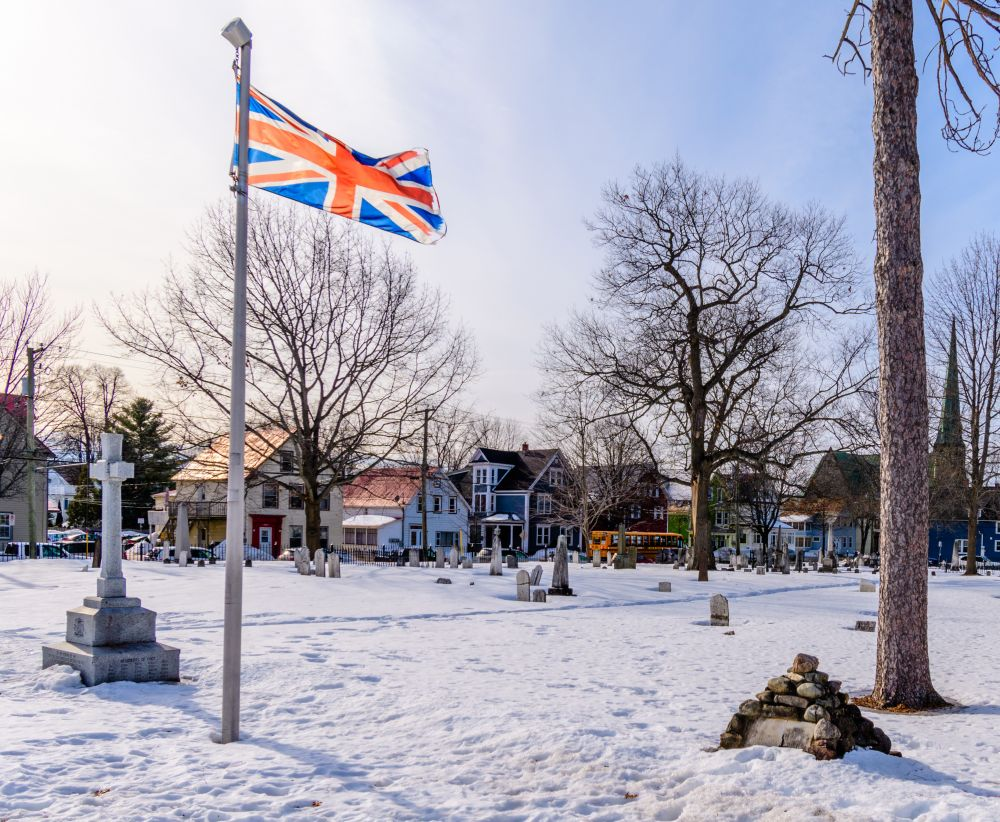 """""""The sun sets on the graves of British soldiers"""", by Jason Jeandron. Taken at Fredericton, NB."""