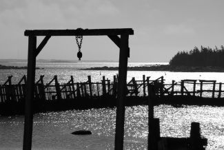 Woods Harbour Silhouette by