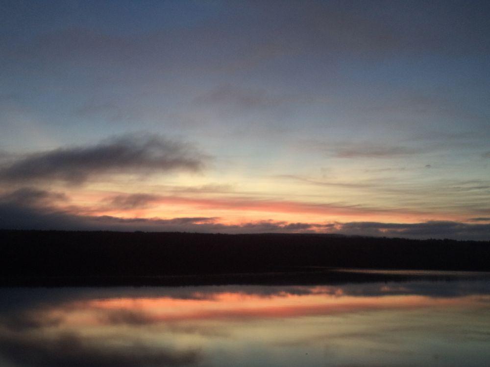 """""""Daybreak"""", by Anita Daye. Taken at Lake Charlotte, NS."""