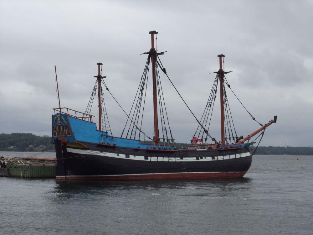 """""""Ship Hector"""", by Anita Daye. Taken at Pictou, NS."""