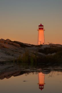 Peggy's Cove Sunrise by