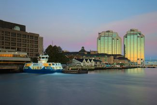 Dartmouth - Halifax Ferry at Sunrise by