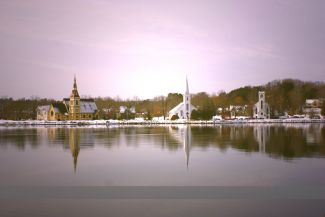 Twilight over Mahone Bay by