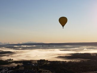 Early Morning Balloon Ride by