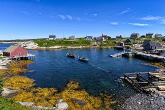 Small Bay At Peggys Cove by