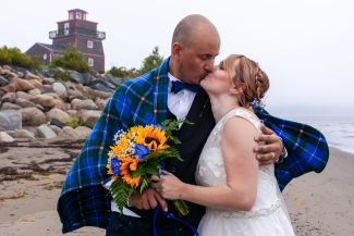 Fort Point Wedding by