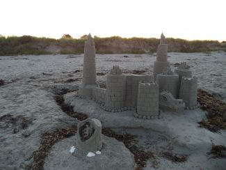 Castle in the Sand by