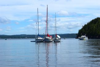 One, Two, Three Sailboats by