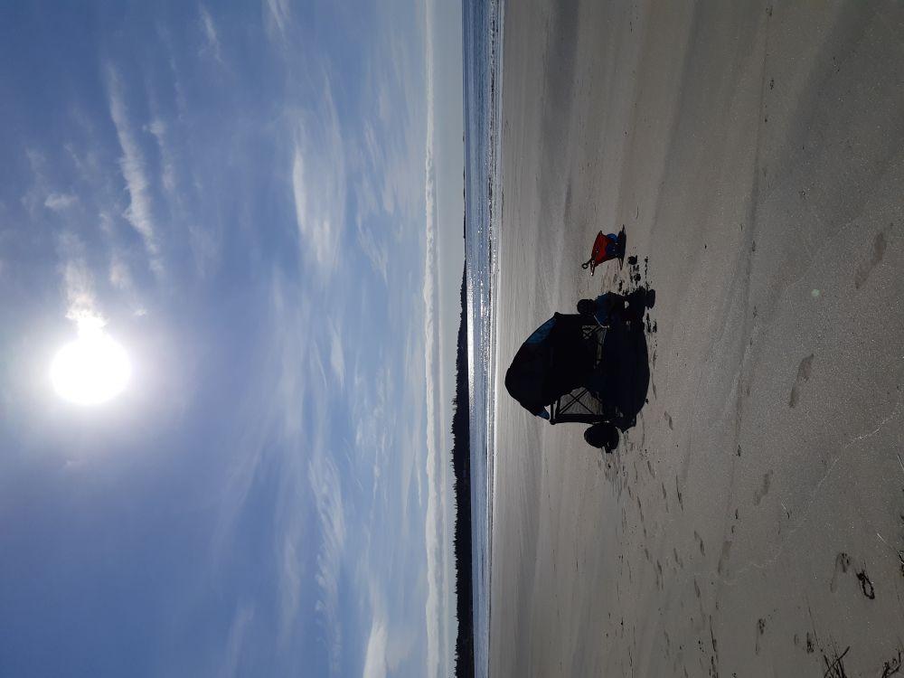 """""""Beach Babes"""", by Candace Malik. Taken at Lockeport."""