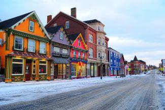 Main Street Yarmouth N.S. by