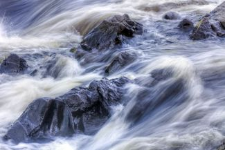 St. Croix River rapids by