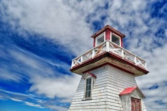 BELLIVEAU COVE LIGHTHOUSE by