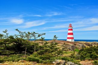 BRIER ISLAND LIGHTHOUSE by
