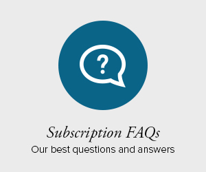 Subscription FAQs